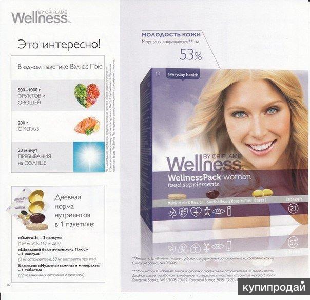 Вэлнесс Пэк для женщин - красота изнутри Wellness (БАД)