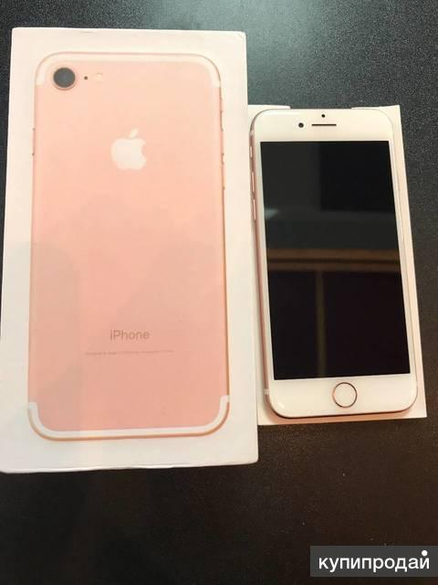 iPhone 7 32Gb цвет Rose Gold
