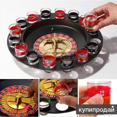 Подарок  алкогольная рулетка