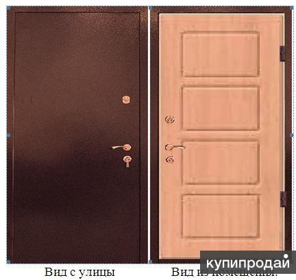 Дверь входная теплая с термомостом