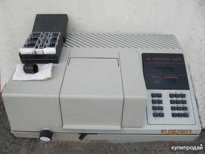 фотоэлектроколориметр без кювет со сливным шлангом