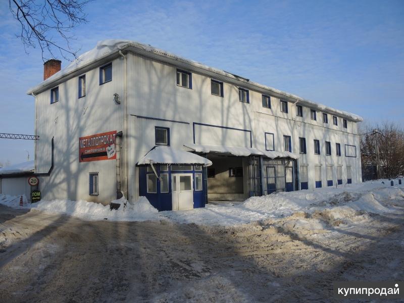 Продаётся отдельно стоящее здание производственного назначения в г. Серпухове Мо