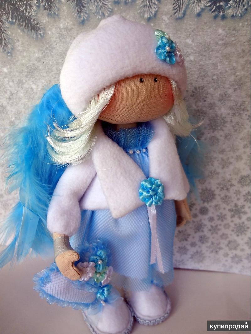 Интерьерные, текстильные куклы ручной работы