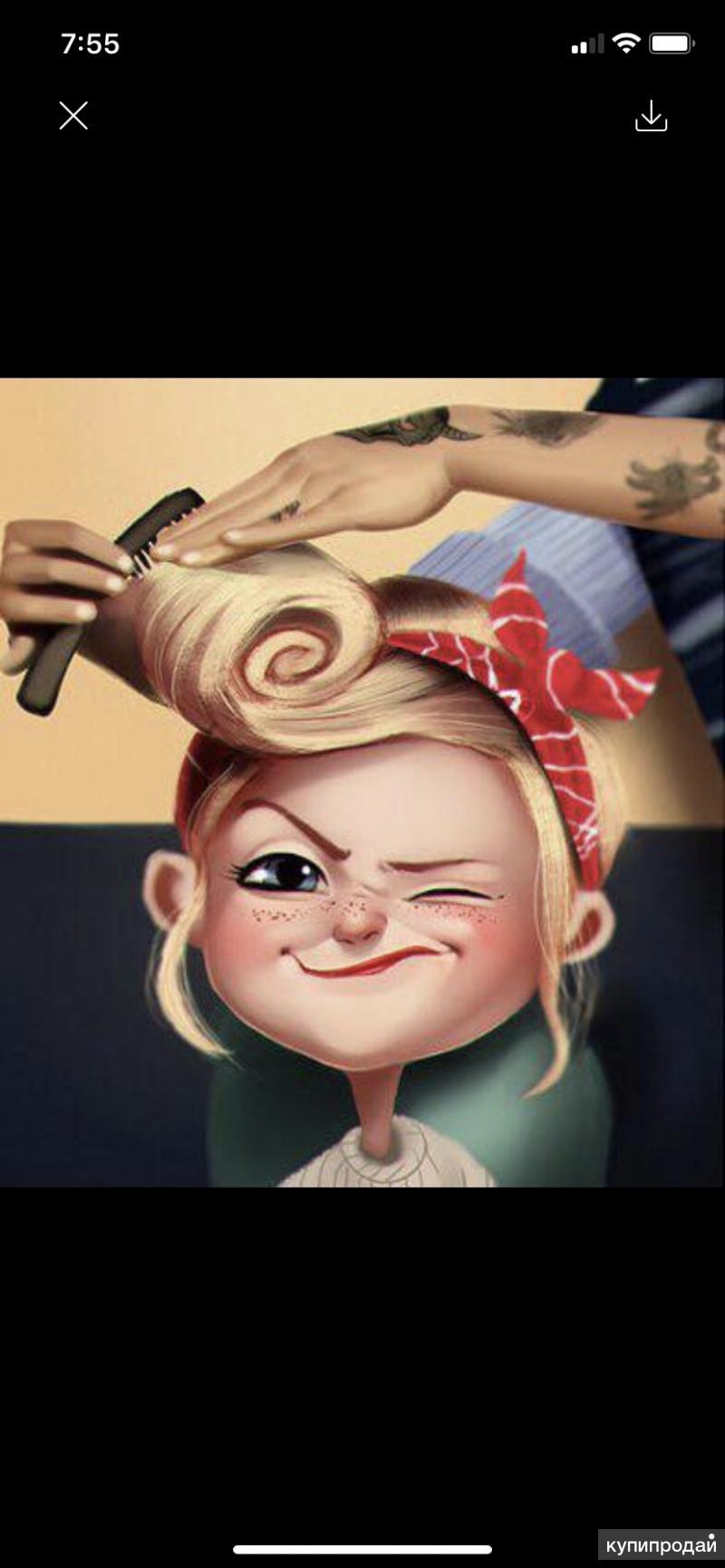 Ищем мастера парикмахера
