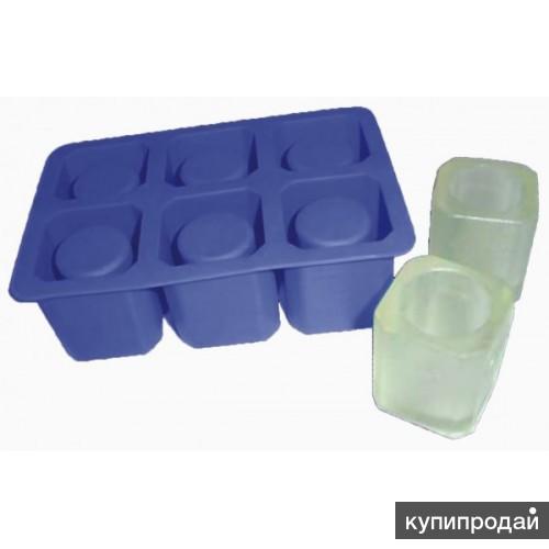 Форма силиконовая Ледяные стопки