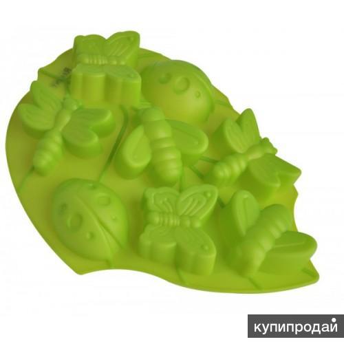 Форма силиконовая Лист (зеленый)