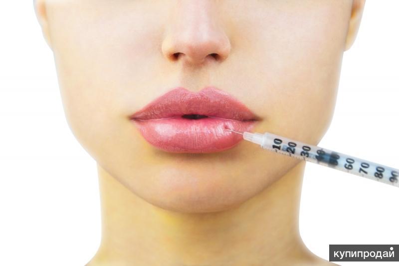 Увеличение губ. Косметолог