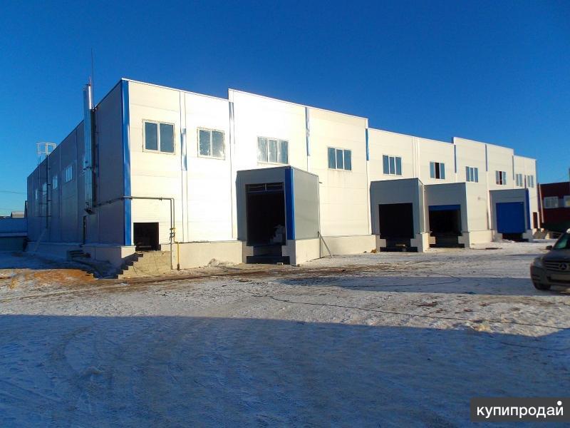 Новое производственно-складское здание 2200 кв.м в Иваново