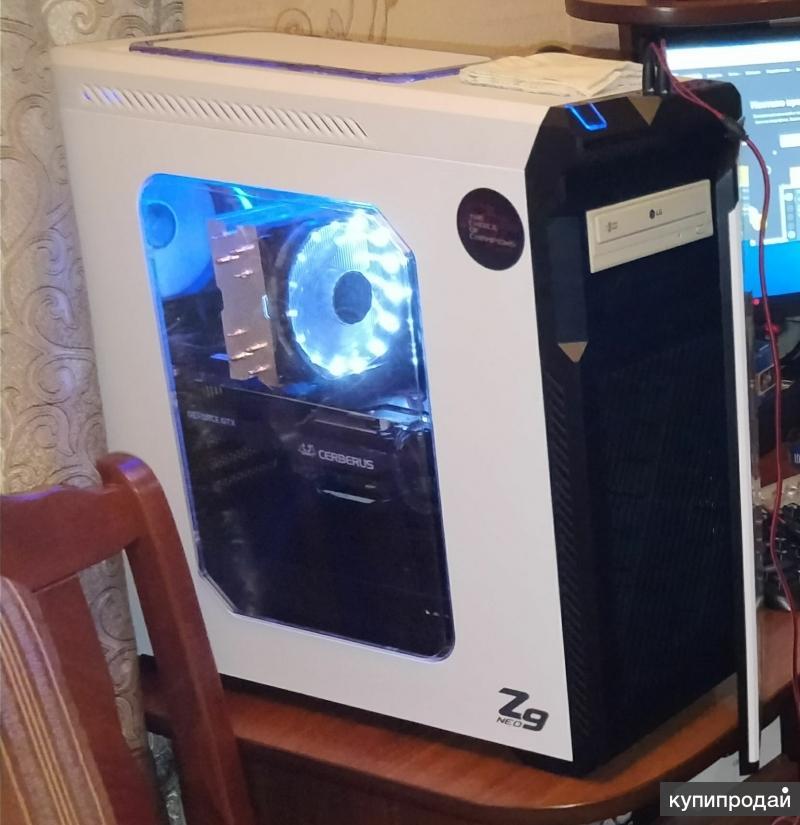 Игровой компьютер, Ryzen 7 2700, 1070ti, x370