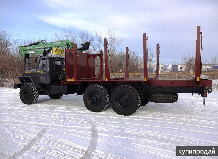 Урал 4320 сортиментовоз с ГМ