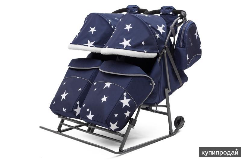 Pikate Twin - модные санки-коляска для двойни