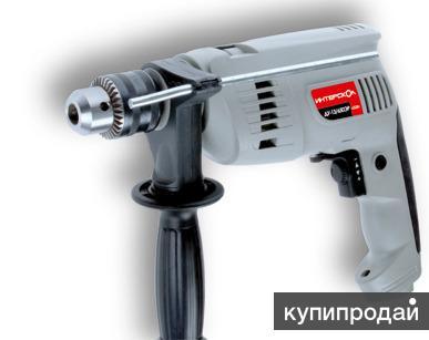 Интерскол ДУ-13/650ЭР ударная дрель новая