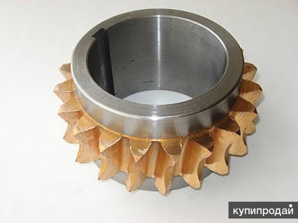 Поставим отливки зубчатых колес и венцов
