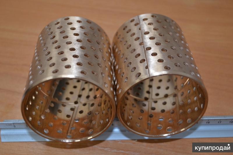 Производим бронзовые втулки больших диаметров