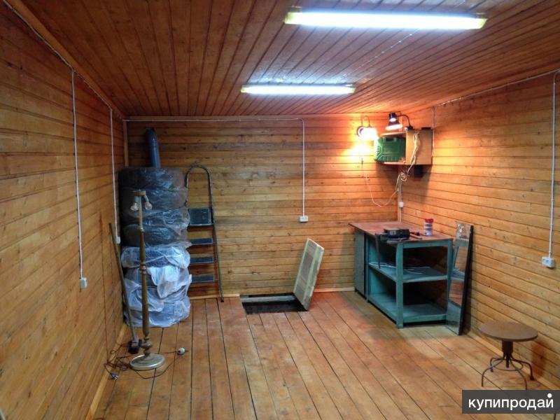 Сдам гараж с подвальным помещением