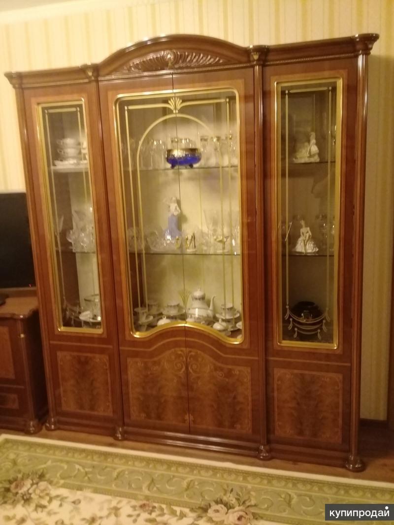 Полированная мебель в гостинную