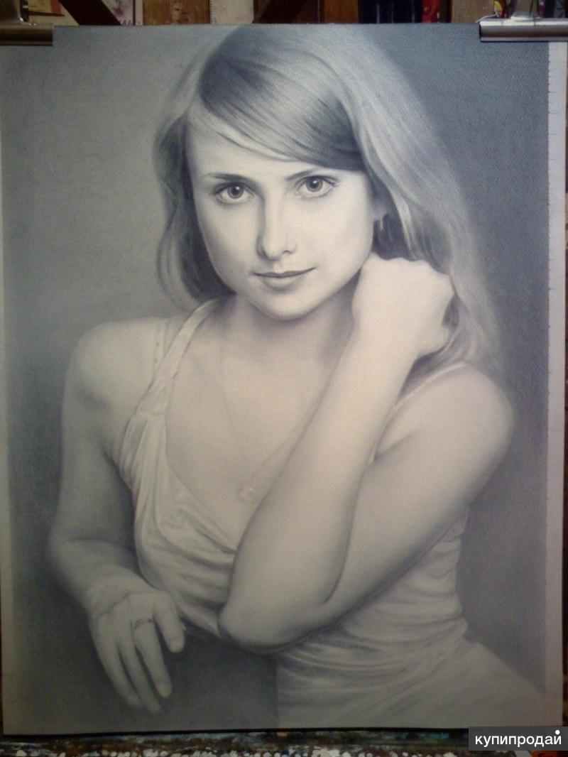 второй величине портрет маслом по фото брянске на заказ желаю