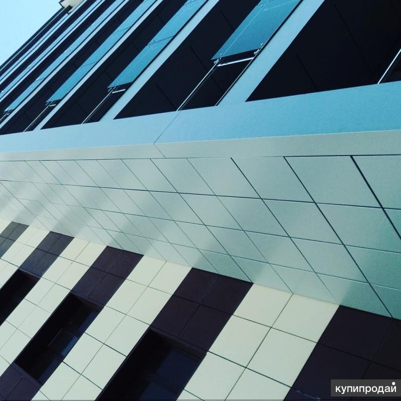 Монтаж навесных вентилируемых фасадов из композитных панелей