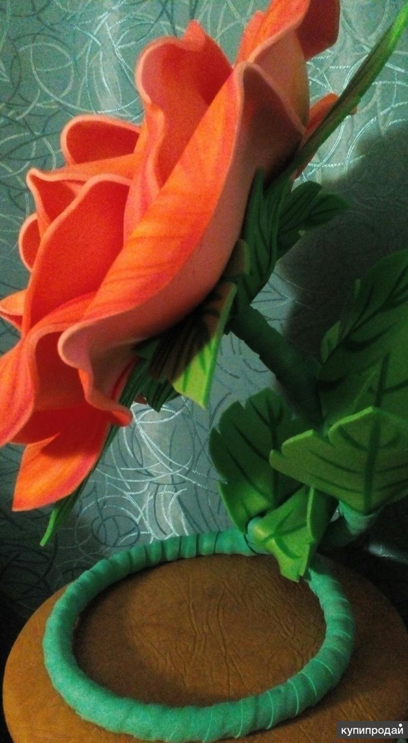 Интерьерная Роза из Изолона