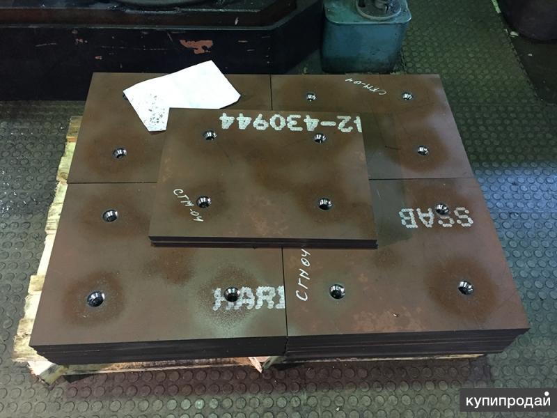 Пулестойкая броня ст.96 (45Х2НМФБА), толщина 6,3 в наличии