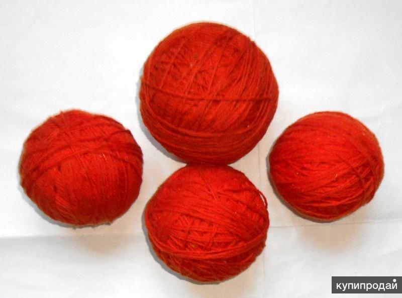 Пряжа для вязания новая ЧШ