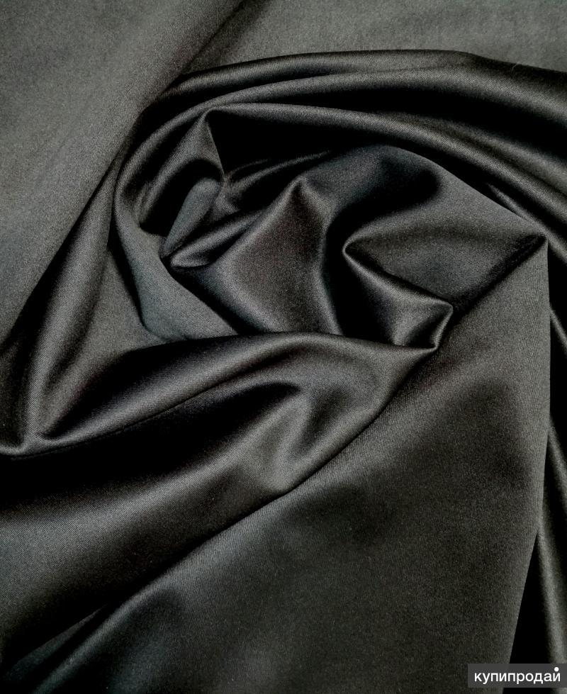Ткань Атлас-сатин стрейч оптом