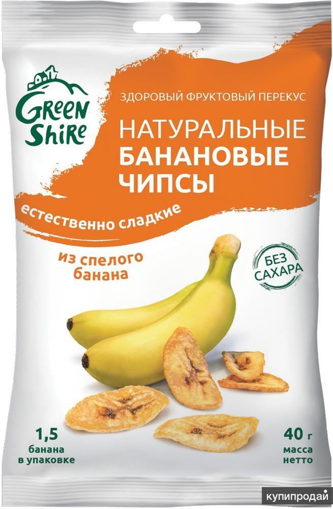 Банановые чипсы, 4 вкуса