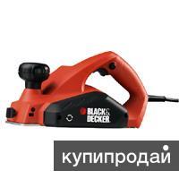 BLACK&DECKER KW712 рубанок новый