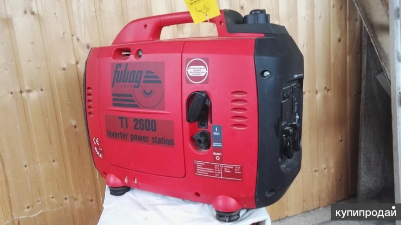 Электрогенератор Fubag TI2600 2.6 КВ. Бензин