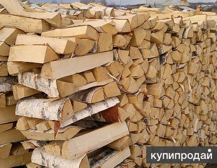 Продам березовые колотые дрова, газель