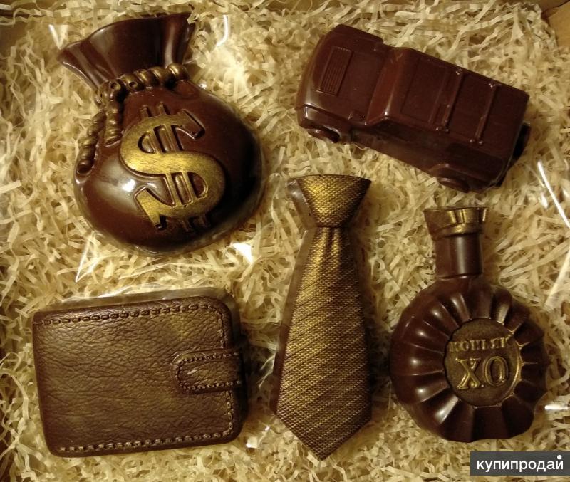 Наборы для мужчин из авторского шоколада