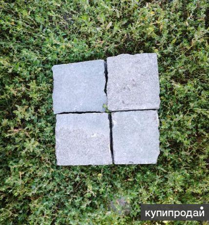 Брусчатка, плитка, бордюр из натурального камнч