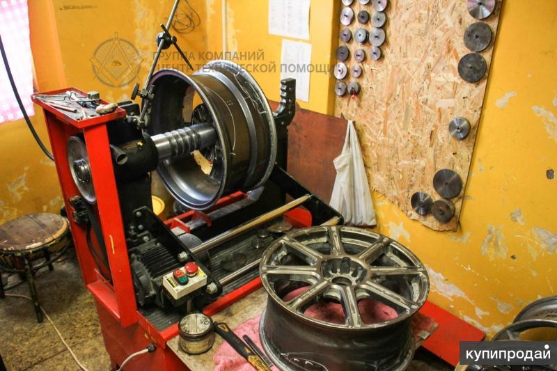 Правка/прокатка/ремонт автомобильных дисков