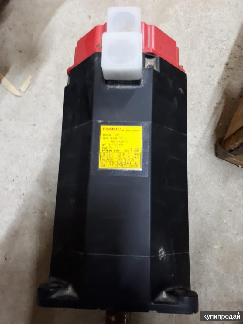 Электродвигатель FANUC model:20, type A06B-0502-B002#0072 no. A836100