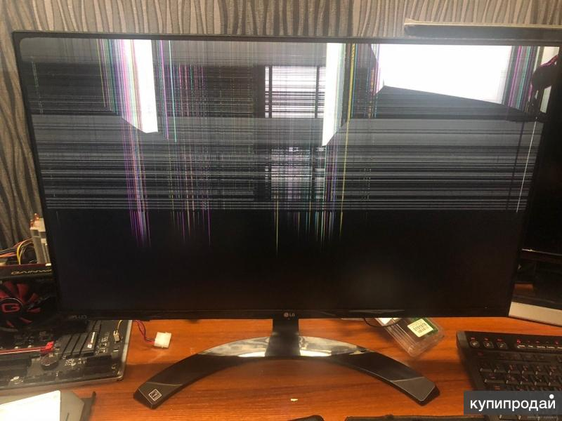 Куплю неисправный ЖК монитор, компьютер в Абакане