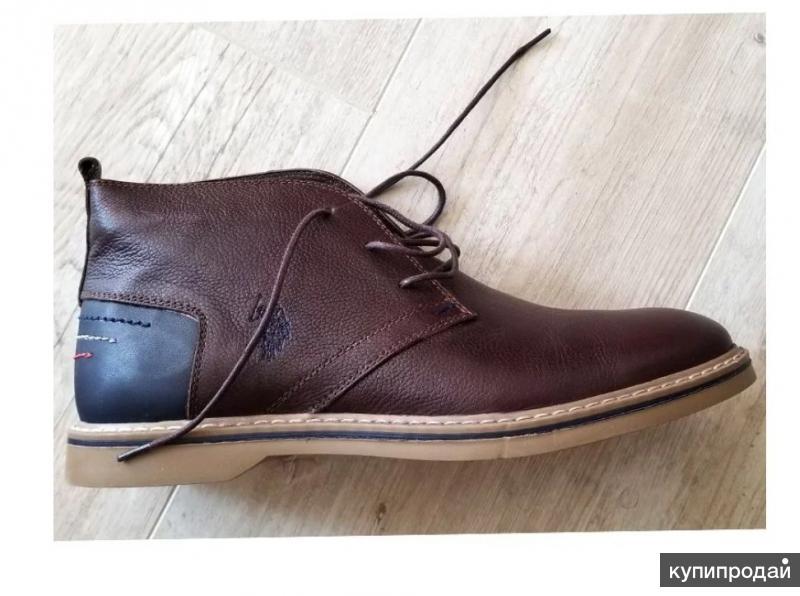 Кожаные ботинки us polo assn