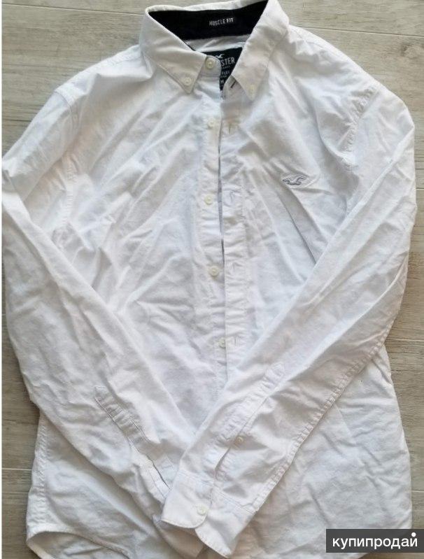 Рубашка мужская Hollister белая