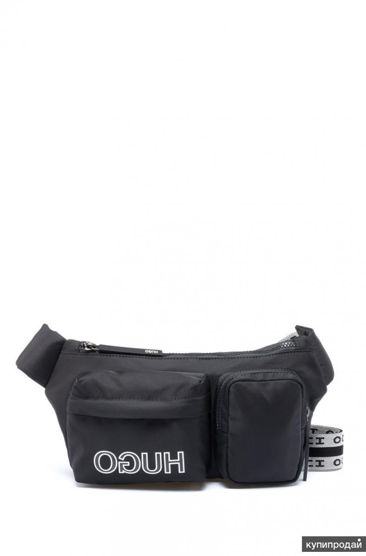 Сумка Hugo Reverse Logo Nylon Belt Bag