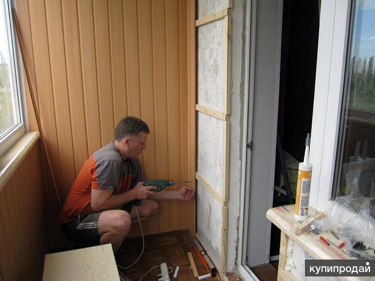 Утепление и отделка под ключ балкона, лоджии